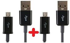 2X MICRO USB DATA CABLE CHARGER LEAD WIRE FOR SAMSUNG GALAXY S S4 HTC BLACKBERRY