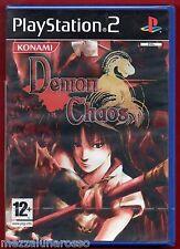 DEMON CHAOS  X PS2 - NUOVO SIGILLATO - ITA