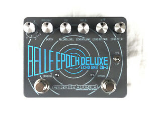 Used Catalinbread Belle Epoch Deluxe Tape Echo Delay Guitar Effects Pedal