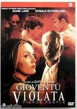 Dvd Gioventù violata - Fierce People con Diane Lane 2005 Usato