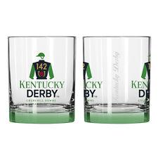 142nd Kentucky Derby Elite Rocks Glass Single