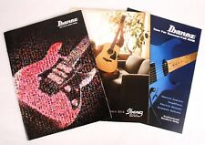 Ibanez Electric, Acoustic, Summer Fall 2012 Dealers Catalog Set, Guitars Amps