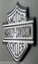 harley davidson auto truck bike 3d emblem tag chrome hd cycle sticker 3m decal