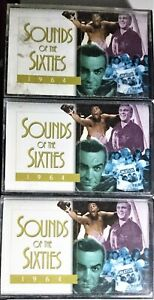 Sounds Of The Sixties-1964.Cassettes x 3.Various Reader`s Digest 2000 Australia