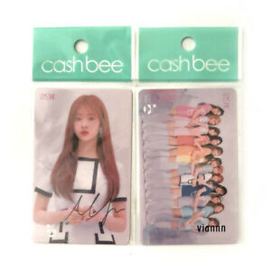 IZ*ONE Minju + Group Cashbee Card / photocard izone wonyoung twice mamamoo