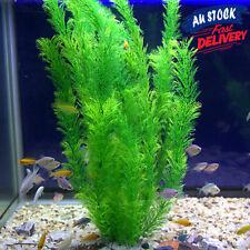 30cm Aquarium Large Artificial Ornament Fish Tank #AM8 Water Plant Plastic