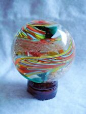 Beautiful Multi-Colored Swirl Marble - 64.5 mm & 354 grams