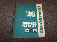 1980 Chevy Bison Bruin Titan J8 J9 D9 N9 Truck Shop Service Repair Manual