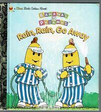Children's First Little Golden Book RAIN RAIN GO AWAY Bananas In Pajamas 1st Ed.