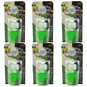 fresh & more WALDBEERE - KOKOSNUSS & MINZE 6 x 19ml passend für Air Wick Stecker