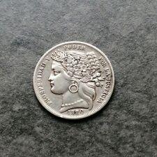Pérou 1 Peseta 1880 Argent