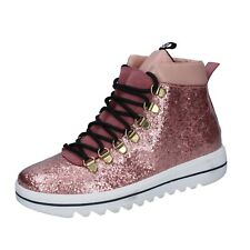 women's shoes TREPUNTOTRE 5 (EU 37) sneakers pink leather suede BS625-37