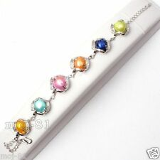 Cultured Pearl Bracelet Bangle Fashion Natural Multicolor Baroque Freshwater