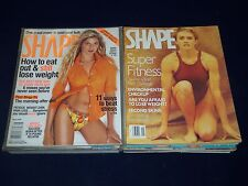 1990-2008 SHAPE MAGAZINE LOT OF 13 ISSUES - GREAT COVERS & MODELS - O 674