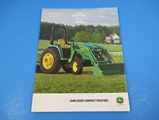 Original John Deere Sales Brochure Compact Tractors Real Power Real Easy M1312