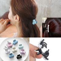Hot Women Charm Flower Crystal Hair Clip Rhinestone Hairpin Claw Clamp Headwear