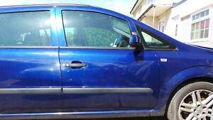 VAUXHALL ZAFIRA B 05 + MODELS DRIVERS SIDE FRONT  DOOR, BLUE Z21B