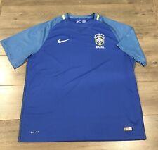 Brazil 2016 Away Nike Soccer Jersey - Size 2XL XXL NWOT