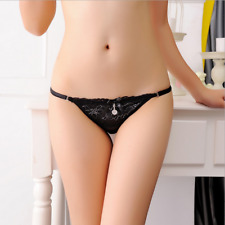 LE Womens Sexy Underwear Panties Lace Briefs G-String Thongs Lingerie Panty