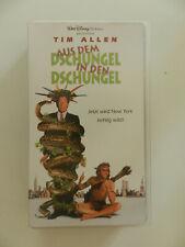 VHS Video Kassette Tim Allen Aus dem Dschungel in den Dschungel Disney