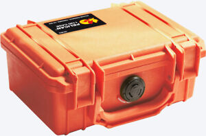 New Orange Pelican ™ 1150 with foam Case includes free Engraved Nameplate Colors