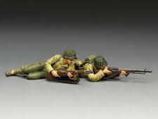 """King and Country DD320 """"On The Beach"""" 1:30 WWII American Metal Toy Soldiers"""