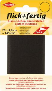 Kleiber Flick & Fertig Selbstklebe Flicken 25 x 5,8cm 13 Farben