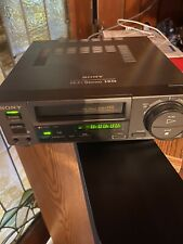 SONY EV-C100 HI8 8MM EDITING VCR WORK GREAT FOR 8MM TAPE TO TRANFER VIDEO TO DVD