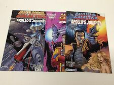 BATTLESTAR GALACTICA APOLLO'S JOURNEY#1-3 (MAXIMUM/081675) COMPLETE SET LOT OF 3