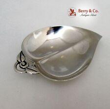 Tiffany Heart Shaped Apple Dish 1950 Sterling Silver