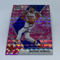 2019-20 Panini Mosaic Pink Camo Prizm Matisse Thybulle Rookie RC Base 76ers #245