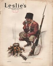 Leslie's Illustrated Weekly Newspaper/Magazine March 9, 1916 News/Photos/Ads