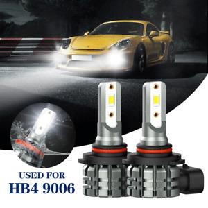 AUXITO HB4 9006 LED Fog Driving Light DRL 6000K Super Bright Bulb White 4000LM