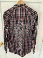 (K30) Roar Shirt Button Down XL Strength Refined Truce Place Embroidered
