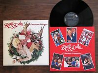 KENNY ROGERS & DOLLY PARTON *Once Upon A Christmas* 1984 Stereo Vinyl RCA LP