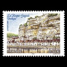 """France 2005 - Tourism """"La Roque Gageac"""" Mountain Landscape - Sc 3110 MNH"""