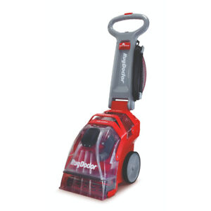 Rug Doctor Deep Carpet Cleaner Red and Grey