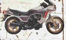 Honda CX500 Turbo 1982 Aged Vintage Photo Print A4 Retro poster