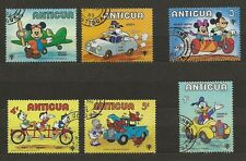 ANTIGUA - Lot 1 - 6 DISNEY stamps USED - VGC