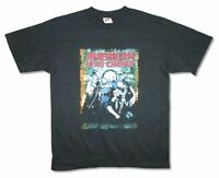 American Head Charge Band Pic Black T Shirt New Official Adult