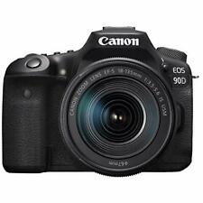 Canon DSLR Camera EOS 90D(W) 32.5MP EF-S18-135 IS USM Lens Kit w/ Tracking