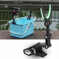 Rotating Fishing Rod Pole Stand Bracket Support Holder Rest Fishing Accessory
