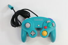 Official Nintendo GameCube Controller Pad Teal Emerald Blue T3 Tight OEM GO501