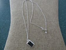 "Tag 24"" necklace pendant Maria Black Sterling Silver Dog"
