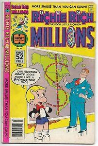 Richie Rich Millions #93 (Harvey, 1979) – 52 Pages – Little Dot – Lotta – FN