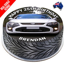 Ford FPV Edible Cake Image Personalised Icing Birthday Decoration Party Topper