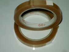 10 x Klebeband Beutelschließer PVC Klebefilm 12mm/66m PVC 32mym transparent NEU