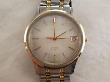 OMEGA De Ville acciaio oro  orologio uomo elegante,