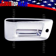 For Chevy SILVERADO 2007-2010 2011 2012 2013 Chrome Tailgate Cover WITH Keyhole