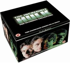 THE INCREDIBLE HULK - Complete 70s Series 1-5 Collection (NEW DVD R4)